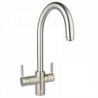 Image for Insinkerator 3N1 J Spout Mixer Tap Brushed Steel