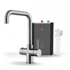 Image for Intu Expression Chrome Boiling Water Tap & Tank - SOCPSQNOIR