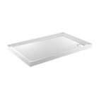 Image for Just Trays JTFusion Rectangle Low Profile Shower Tray 1200mm x 800mm 4 Upstands Anti-Slip I ASF1280140