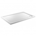 Image for Just Trays JTFusion Rectangle Low Profile Shower Tray 900mm x 800mm 4 Upstands 45mm F980140