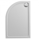 Image for Just Trays JTFusion Offset Quadrant Low Profile Shower Tray 900mm x 760mm L/H Anti-Slip ASF976LQ100