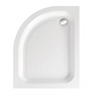Image for Just Trays Merlin Offset Quadrant Shower Tray 900mm x 800mm L/H Anti-Slip AS980LQM100