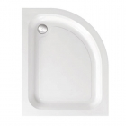 Image for Just Trays Merlin Offset Quadrant Shower Tray 900mm x 800mm R/H A980RQM100