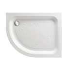 Image for Just Trays Ultracast Offset Quadrant Shower Tray 900mm x 760mm L/H Anti-Slip AS976LQ100