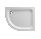 Image for Just Trays Ultracast Offset Quadrant Shower Tray 900mm x 760mm L/H A976LQ100