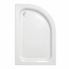 Image for Just Trays Ultracast Offset Quadrant Shower Tray 900mm x 800mm R/H A980RQ100