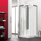 Image for Kinedo Horizon Self-Contained 800mm x 800mm Corner Slider Shower Cubicle - CA116A12