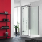 Image for Kinedo Horizon Self-Contained 900mm x 900mm Corner Pivot Shower Cubicle - CA137A12