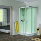 Image for Kinedo Kineprime Glass Self-Contained 700mm x 700mm Corner Slider Shower Cubicle - CA700TTN