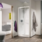 Image for Kinedo Kineprime Glass 800mm x 800mm Recessed Pivot Shower Cubicle - CA741TTN