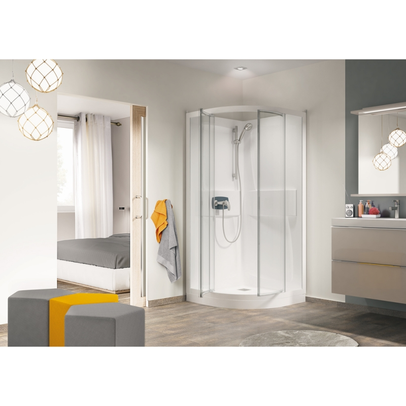 Self Cleaning Shower Cubicle