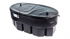 Image for Kingspan Ferham 182L Oval Cold Water Storage Tank With Byelaw 30 Kit Lid & Jacket - FC40G