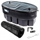 Image for Kingspan Ferham 68L Oval Cold Water Storage Tank With Byelaw 30 Kit Lid & Jacket - FC15G