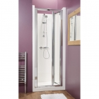 Image for Kubex Eclipse Sealed Shower Cubicle - 800mm Bi-Fold (Chrome) - EA8BF