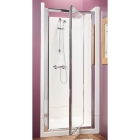 Image for Kubex Eclipse Sealed Shower Cubicle - 800mm Pivot (Chrome) - EA8P