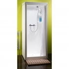 Image for Kubex Kingston All-In-One Sealed Shower Cubicle - Curtain - K8C