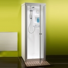 Image for Kubex Kingston Compact All-In-One Sealed Shower Cubicle - Pivot - KCP-LH