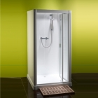 Image for Kubex Profile 900 Range All-In-One Shower Cubicle - Bi-Fold - P9BF