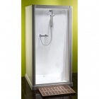 Image for Kubex Profile Range  900mm x 900mm Curtain Shower Cubicle  - P9C