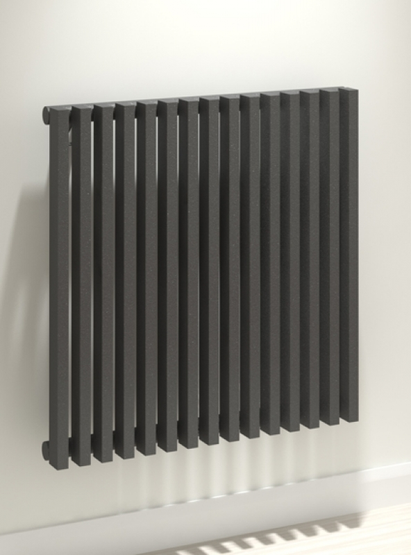 Kudox xylo designer radiators anthracite designer for Household radiator design