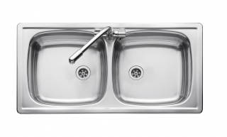 Leisure Euroline EL860DB 2.0 Bowl 1TH Stainless Steel Inset Kitchen Sink