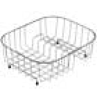 Image for Leisure KA12 Draining Basket - Stainless Steel