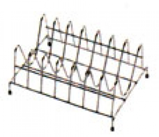 KA48 Plate Rack - Stainless Steel