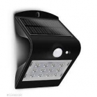 Image for Luceco LEXS40B40-01 3.2W Solar Guardian Wall Light with PIR - Black