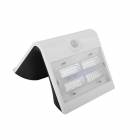 Image for Luceco LEXS40W40-01 3.2W Solar Guardian Wall Light with PIR - White