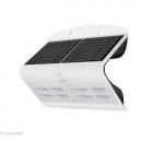 Image for Luceco LEXS80W40-01 6.8W Solar Guardian Wall Light with PIR - White