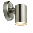Image for Lutec Rado 35w LED Outdoor Spot Wall Light Stainless Steel - 5510904001