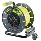 Image for Masterplug 4 Gang 50m Open Cable Reel - OLU50134SL-PX
