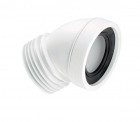 """Image for McAlpine 4"""" 45° Angled Pan Connector - WC-CON16"""