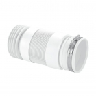 """Image for McAlpine 4"""" Flexible Back To Wall Pan Connector - WC-F21R"""