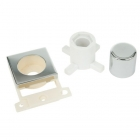 Image for Minigrid Dimmer Module Mounting Kit - Polished Chrome - MD150CH