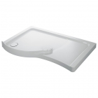 Image for Mira Flight Walk-in Shower Tray 1400mm x 800mm LH - 400825 (Waste and Trap Included)