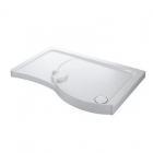 Image for Mira Flight Walk-in Shower Tray 1700mm x 700mm RH - 400822 (Waste and Trap Included)