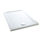 Image for Mira Flight Low Profile Rectangle Shower Tray 1000mm x 800mm - 1.1697.007.WH (Waste and Trap Included)