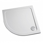 Image for Mira Flight Low Profile Quadrant Shower Tray 1200mm x 900mm Left Hand - 1.1697.024.WH (Waste and Trap Included)