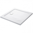 Image for Mira Flight Low Profile Square Shower Tray 900mm x 900mm - 1.1697.009.WH (Waste and Trap Included)