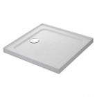 Image for Mira Flight Low Profile Square Shower Tray With Upstands 800mm x 800mm 4 Upstands 1.1697.322.WH