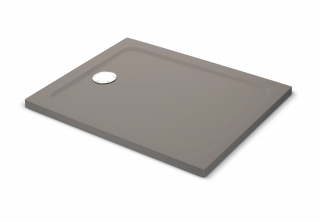 Mira Flight Safe Coloured Rectangle Shower Tray - Taupe