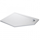 Image for Mira Flight Safe Pentangle Shower Tray LP 1200x900mm LH 0 UPS 1.1697.026.AS (Waste and Trap Included)