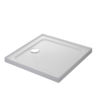Image for Mira Flight Safe Square Shower Tray LP 760x760mm 4 UPS 1.1697.342.AS (Waste and Trap Included)
