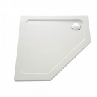 Image for Mira Flight Safe Pentangle Shower Tray LP 900x900mm 0 UPS 1.1697.016.AS (Waste and Trap Included)