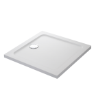 Image for Mira Flight Safe Square Shower Tray LP 900x900mm 0 UPS 1.1697.009.AS (Waste and Trap Included)