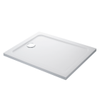 Image for Mira Flight Safe Rectangle Shower Tray LP 1000x760mm 0 UPS (Waste and Trap Included)