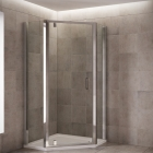 Image for Mira Leap 1200x900mm Pentagon Shower Panel Kit