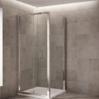 Image for Mira Leap 800mm Bi-Fold Shower Door