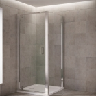 Image for Mira Leap 800mm Pivot Shower Door